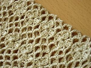 模様編みアップ