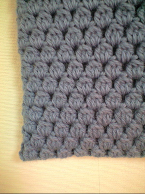 玉編みアップ