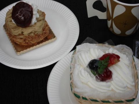 アン・ドゥーのケーキ