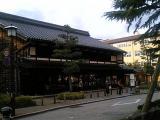 長町・老舗記念館前