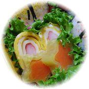 チーズ&カニカマ入り卵焼き