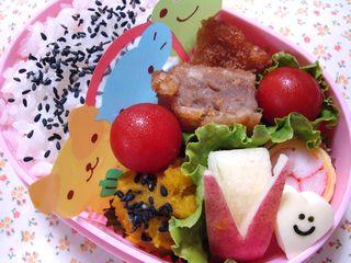 シンプルご飯のお弁当♪