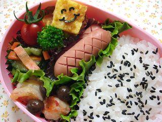 シンプルなお弁当♪