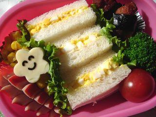 タマゴサンドのお弁当♪