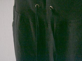 麻のズボン