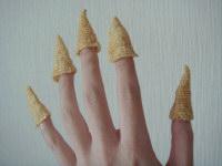 指のお菓子