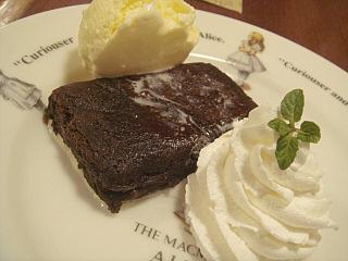 ホットチョコケーキ