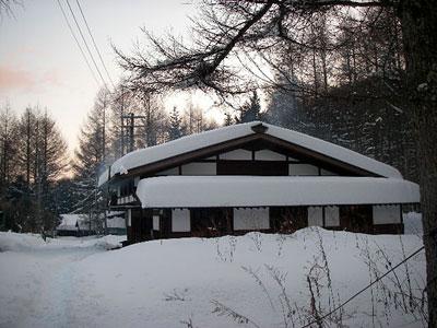 雪の大平宿