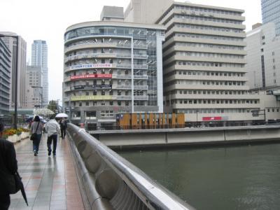 渡辺橋から渡辺橋駅方面を臨む