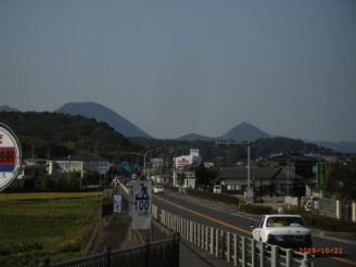 宇佐への道山