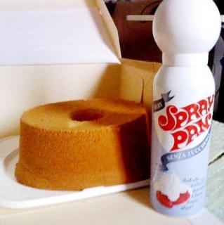 ケーキとスプレーパン
