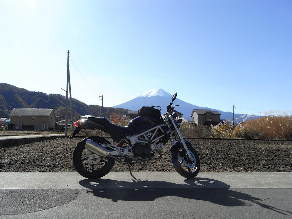 富士山とVTR