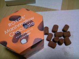 マシュマロ チョコレート
