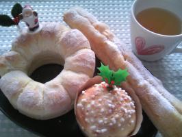 クリスマス パン
