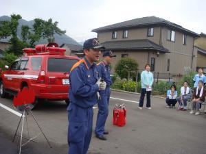 消防士さんのお話①