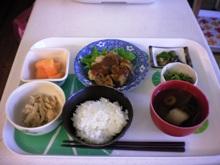 本日のお昼ご飯です。