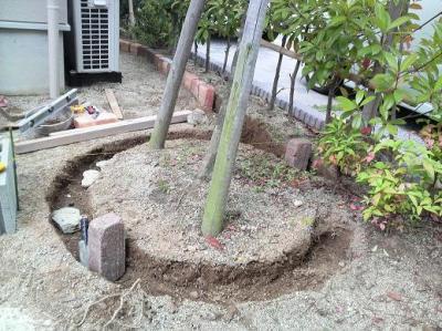 サークル花壇 (2)