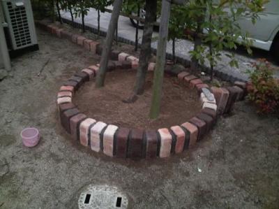 サークル花壇 (1)