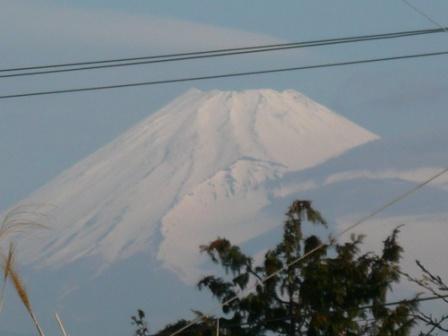 富士山2009.4.4