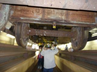 車両床下探検