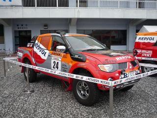 トライトン SINGHA アジアクロスカントリーラリー2007