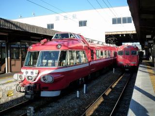 名鉄 国府駅にて