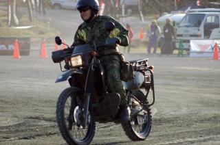 オートバイ(偵察用250cc)