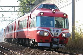 普通 東岡崎行 7000系パノラマカー(白帯)