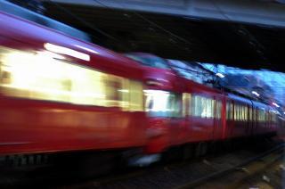 東岡崎への回送パノラマカー