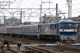 JR九州向け415系・211系 甲種鉄道車両輸送