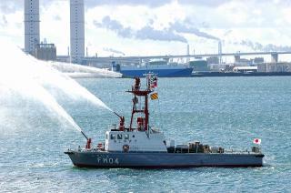 名古屋海上保安部 消防艇「しらいと」