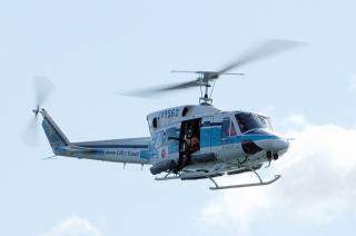 中部空港海上保安航空基地 ヘリコプター「かみたか1号」