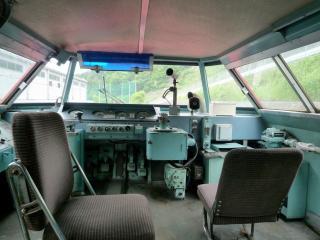 パノラマカー(7001) 運転台