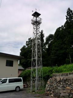 岡崎市夏山町の火の見櫓