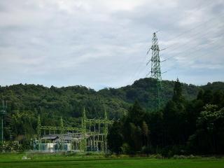 夏山変電所