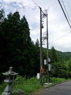 岡崎市夏山町の半鐘台(?)