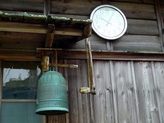岡崎市夏山町の半鐘