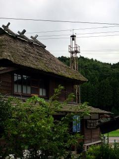 隠居屋と火の見櫓