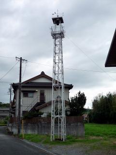 岡崎市牧平町の火の見櫓
