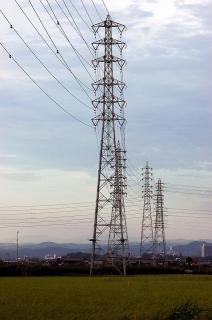 岡崎西尾線 鉄塔