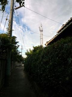 岡崎市中村町の火の見櫓