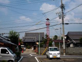 名古屋市東区矢田4丁目の火の見櫓