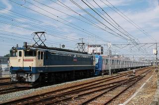 東京メトロ10000系の甲種