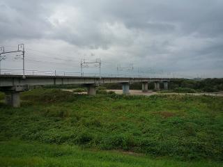 新幹線 矢作川橋梁