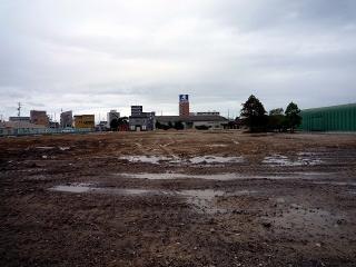 服部工業の解体工事現場