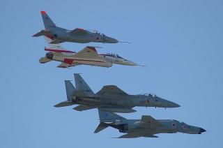 T-4 & F-2A & F-15J & F-4EJ