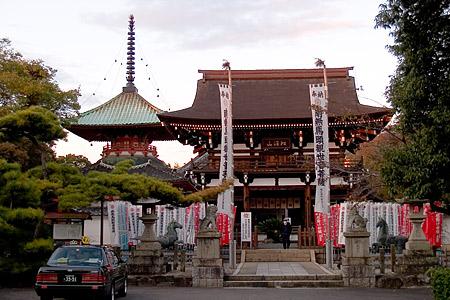 龍泉寺正面
