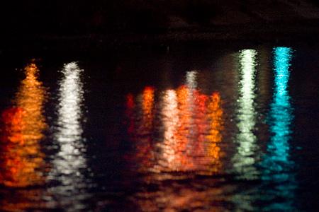 水面の光いろいろ