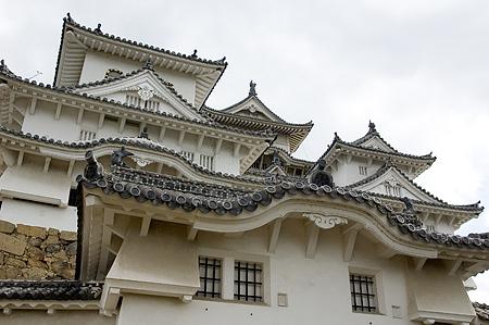 姫路城外観-3