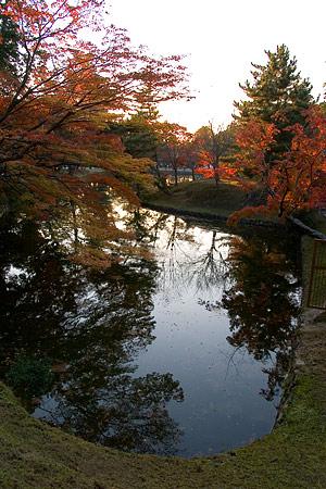 奈良紅葉風景-11